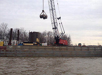 Gallatin Steel Mooring Cell Construction – Ohio River 2