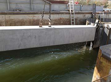 Kingston Skimmer Wall Construction 2