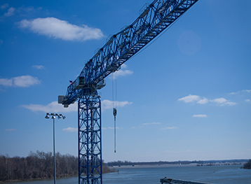 Marine Structure for New Tower Crane – Paducah Riverport 1