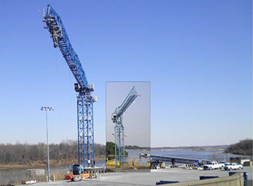 Marine Structure for New Tower Crane – Paducah Riverport 3