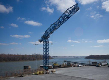 Marine Structure for New Tower Crane – Paducah Riverport 4