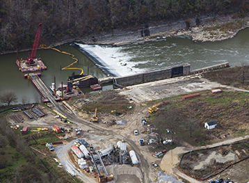 Renovation of Kentucky River Lock & Dam 8-1