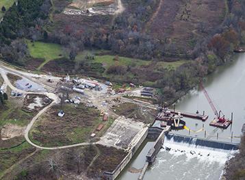 Renovation of Kentucky River Lock & Dam 8-2