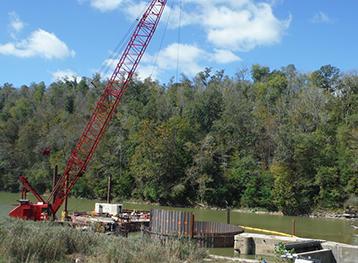 Renovation of Kentucky River Lock & Dam 8-4