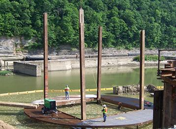Kentucky Lock And Dam 9